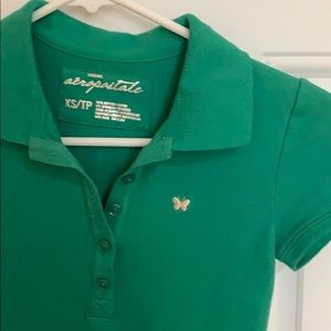 AEROOSTALE NWOT Butterfly Polo XS/TP Polo Style